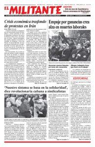 thumbnail of El Militante Vol. 82/No.2