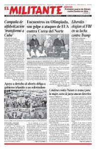 thumbnail of El Militante Vol. 82/No.8