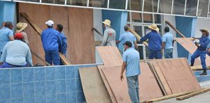 Sept. 2016, revolutionary government mobilized workers in Yaguajay, Cuba, to prepare for Hurricane Irma.