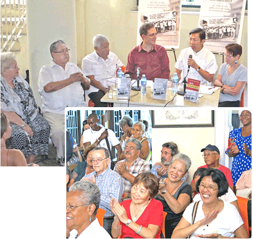 Evento en Barrio Chino recibe a generales cubano-chinos