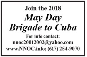 Join the 2018 May Day Brigade to Cuba