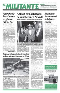 thumbnail of El Militante Issue8203