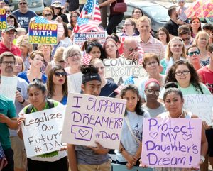 Sept. 10 Omaha, Nebraska, protest. Socialist Workers Party says Amnesty for all immigrants!