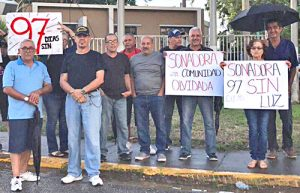 Protests in Puerto Rico: 1 million plus still without power