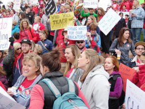 Denver rallies demand school funding, pay raises