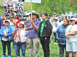 Farmworkers, unionists and others joined May Day action in Yakima, Washington, May 1.