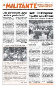 thumbnail of el Militante Vol. 82/No.24