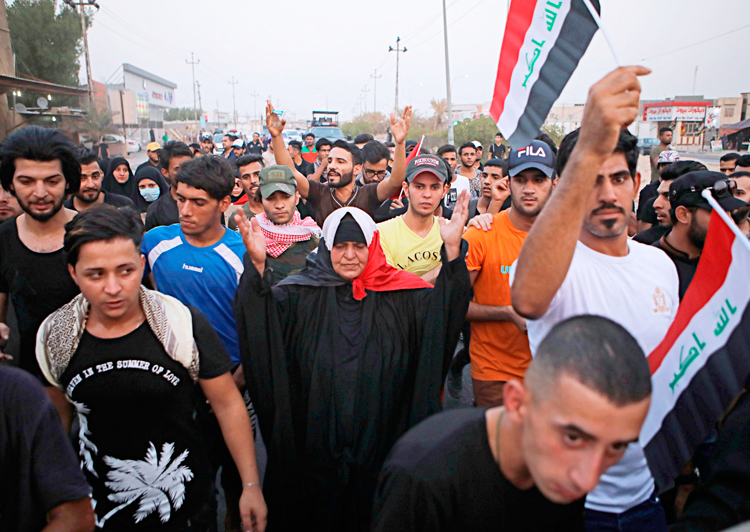 Protesters in Basra demand jobs, electricity, water and end to Iranian intervention and meddling in Iraq. Thousands were killed fighting Islamic State, now survivors face deepening crisis.