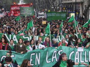 Argentina: '¡Aborto legal, en el hospital!'