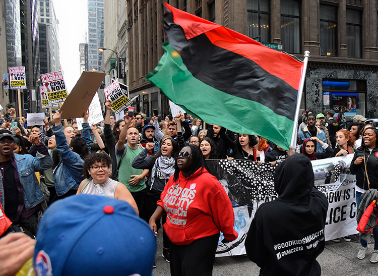 Protesters celebrate after conviction Oct. 5 of Chicago cop Jason Van Dyke of second-degree murder in 2014 killing of Laquan McDonald. Jurors said they just didn't believe Van Dyke.