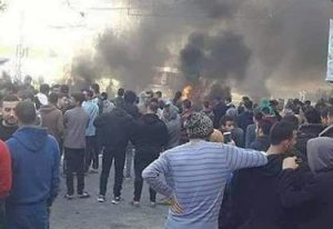 Palestinians in Gaza City protesting rising prices, taxes were attacked by Hamas-led police, more than 1,000 were arrested.