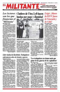 el Militante Vol. 83/No. 20