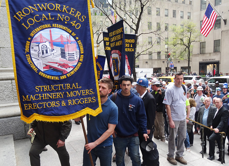 NY mass honors construction workers killed on the job