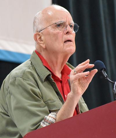 Jack Barnes, secretario nacional del Partido Socialista de los Trabajadores.