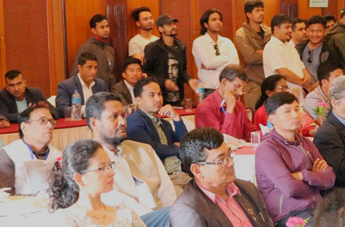 Delegates to Asia-Pacific conference of soldarity with Cuba, held July 26-27 in Kathmandu, Nepal.