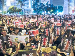 Hong Kong protests continue to demand rights