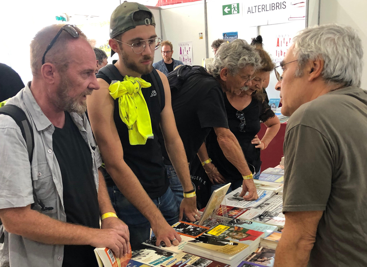 Titles by SWP leaders attract interest at Paris Fete