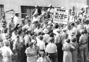 In Teamster battles, 'Workers learned to fight as a class'