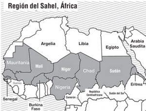 Gobierno francés ha enviado tropas a Burkina Faso y Malí en región del Sahel en África.