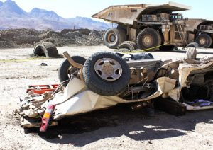 Giant ore truck crushed Asarco mine worker Thomas Benavidez to death in 2010. Safety camera on truck could have prevented death, but Asarco like other mine bosses refuses to install them.
