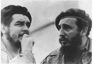 Che Guevara and Fidel Castro in the early years of the revolution.