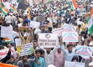 Mass actions in India protest anti-Muslim law