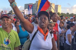2019 May Day march in Havana. International solidarity brigade with Cuba will join in this year's march, visit factories and farms, and meet with wide range of Cuban workers and youth.