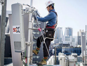 Technician installs 5G network in South Korea. British Prime Minister Boris Johnson has clashed with party members and Washington over decision to allow Huawei to put 5G in U.K.