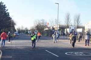 Workers at Tulip meat factory in U.K. held job action and workers at Linden Foods in Northern Ireland, above, walked out March 27 over bosses' refusal to provide safe working conditions.