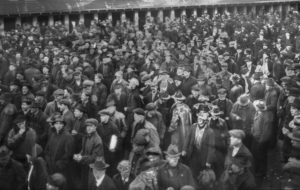 "In February 1919 more than 60,000 union members in Seattle walked out in first general strike in the U.S. City was hard hit by ""Spanish flu,"" but workers did not put the class struggle on hold."