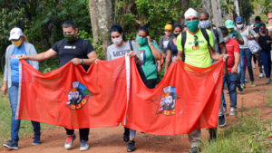 Cuba's Union of Young Communists is leading 150 contingents, with 2,700 members, to work on farms.