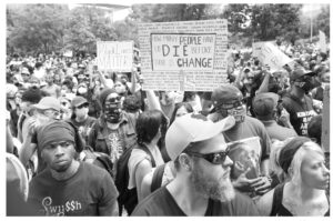More than 60,000 people joined June 2 Houston action against Minneapolis cop killing of George Floyd. Protests draw broad participation, shining spotlight on racist