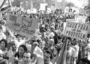 Faced with provocations and war threats from Washington in 1980 as struggles spread across Latin America and the Caribbean, including revolutions by workers and farmers in Nicaragua and Grenada, millions of working people mobilized across Cuba in defense of their revolution.