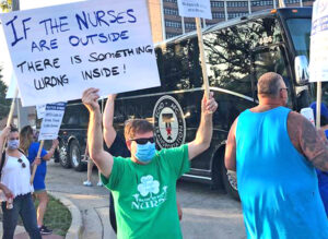 Joliet: Nurses at AMITA strike over staffing, conditions