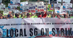 Forjar solidaridad con huelga en astillero en Bath