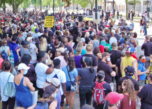 "Some 2,000 demonstrators join Aug. 29 protest in Kenosha, Wisconsin, hosted by the family of Jacob Blake Jr. after he was shot in the back seven times by a city cop. ""The cop who shot Jacob needs to be charged,"" teacher Jason Jackson told the Militant at the rally."