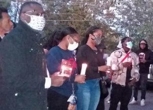Atlanta solidarity vigil with protests in Nigeria