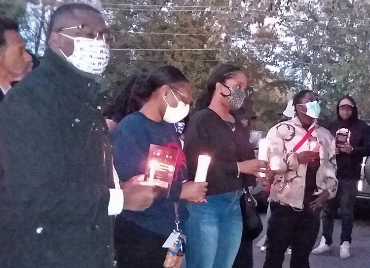 Atlanta solidarity vigil with protests in Nigeria