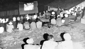 "Cuban Revolution fostered widespread interest in ""arts and letters"" among working people, Abel Prieto says. After the 1959 revolution peasant youth, right, were trained how to run projectors to show movies, often for the first time, in the countryside, including in the Sierra Maestra, above."