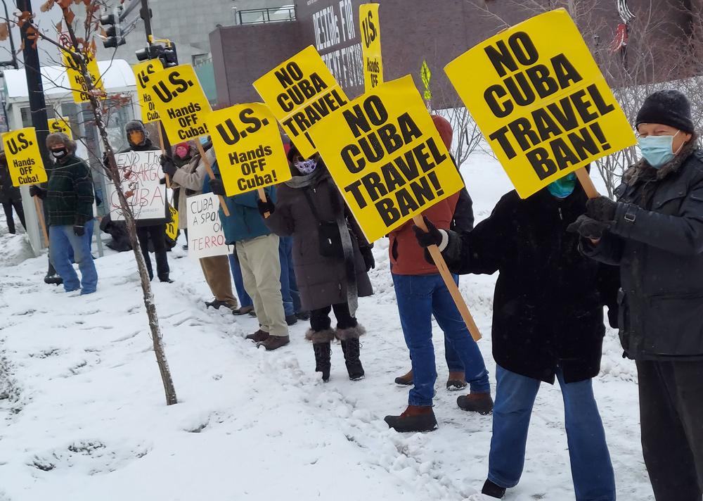 Minneapolis protest: 'Defend the Cuban Revolution!'