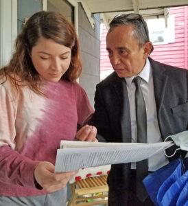 Gerardo Sánchez, der., candidato del PST.