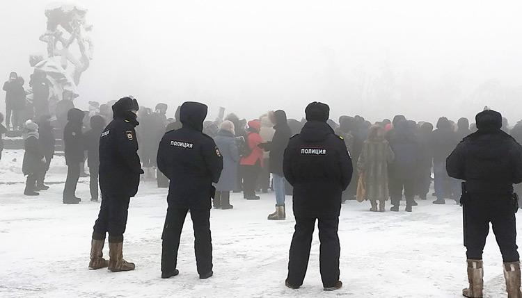Rusia: Protestas exigen liberación de Alexei Navalny