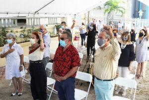 Feb. 28 meeting in San Juan honors political life of Puerto Rico independence fighter Rafael Cancel Miranda a year after his death. María de los Ángeles Vázquez, Miranda's wife, speaks.