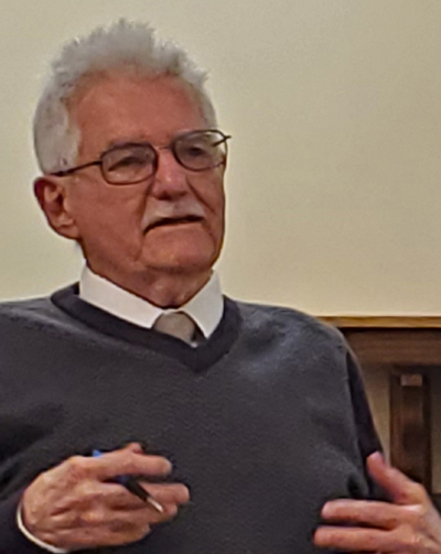 Joe Swanson, Socialist Workers Party candidate for Lincoln, Nebraska, City Council.