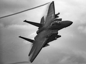 Biden ordered airstrikes by U.S. warplanes on Iranian-backed militia in Syria, Feb. 25.