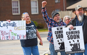 March 16 rally, Brackenridge, Pennsylvania, backing steelworkers on strike at ATI. Job actions, on the uptick today, are actions from which our class can learn and gain confidence. Our job is not to bask in accomplishments of Cuban Revolution, Waters said. Our job is right here.