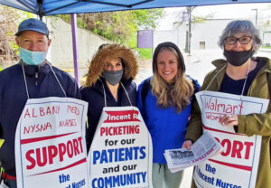 Striking Massachusetts nurses win solidarity