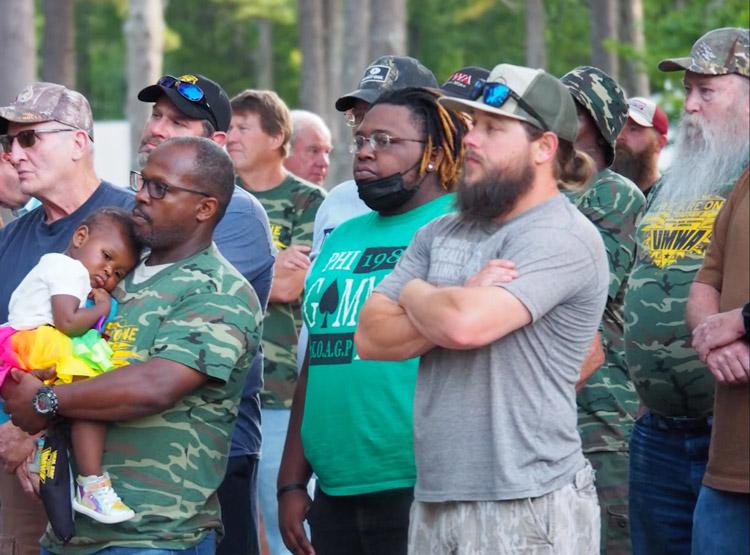 Protesta en McCalla, Alabama, el 20 de mayo en solidaridad con mineros en huelga contra Warrior Met Coal. Luchan para recuperar concesiones impuestas hace cinco años.
