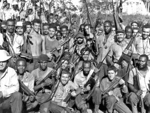 Indiana prison officials banned historic photo of Cuban militia.