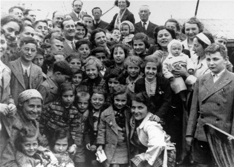 Hundreds of Jewish passengers fleeing Nazi persecution aboard St. Louis ocean liner, above, in 1939 were forced back to Europe after Washington and Ottawa denied them entry. Many died in Holocaust. Israel was founded after imperialist powers barred postwar Jewish refugees.